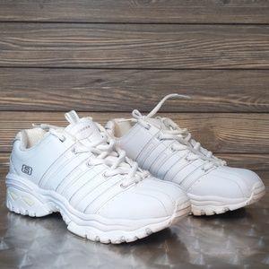 Women's Skechers Sport White Sneakers